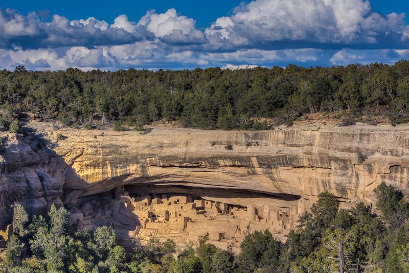 """Cliff Palace Anasazi Indian Ruins #1"""