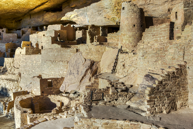 """Cliff Palace Anasazi Indian Ruins #4"""