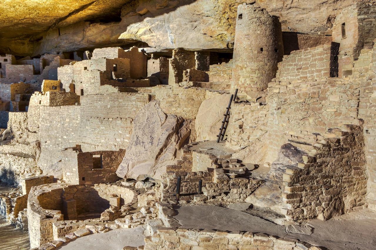 """Cliff Palace Anasazi Indian Ruins #4"""