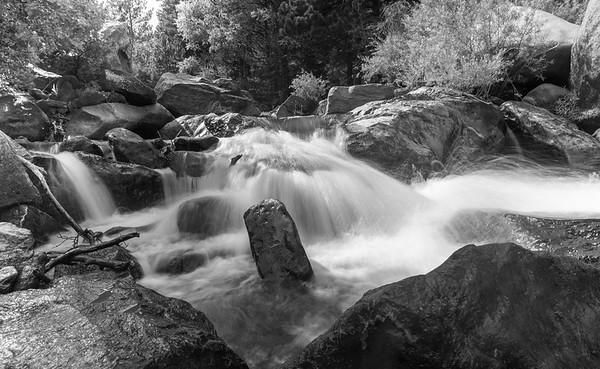 Colorless Falls of Eldorado Canyon