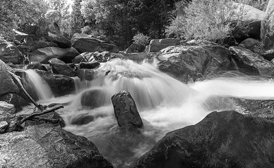 Colorless Falls of Eldorado Canyon