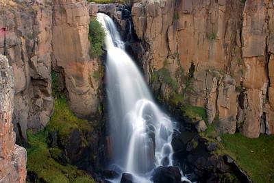 North Clear Creek Falls in Southwestern Colorado