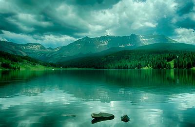 Mountain Lake just outside Telluride