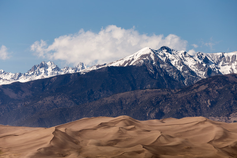Cleveland Peak, Crestone Needle and Great Sand Dunes National Park
