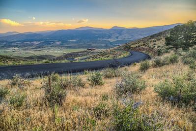 Stag Hollow Road, Loveland, Colorado, USA