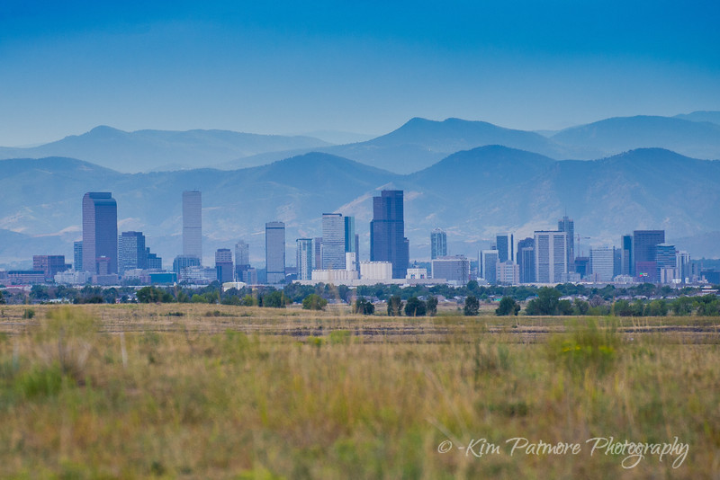 Denver from the Rocky Mountain Arsenal National Refuge