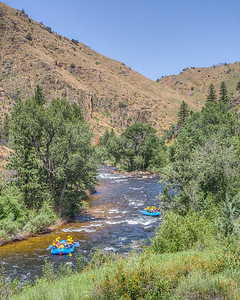Couche la Padre River, Bellvue, Colorado, USA