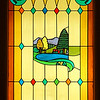 Farm Scene Stained Glass
