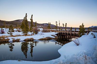 Bridge at Big Creek Lake
