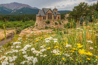 Chapel on the Rock, Saint Malo Center, Allenspark, Colorado, USA