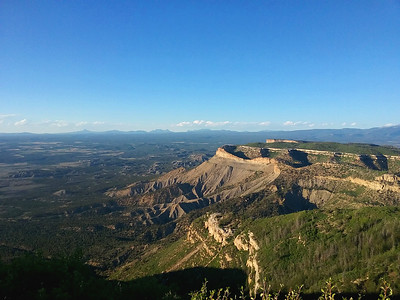 Overlooking Mesa Verde National Park