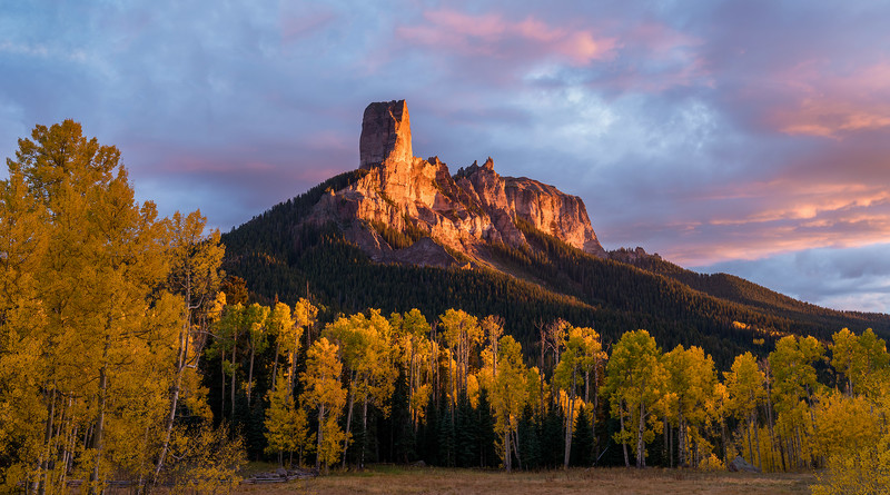 Chimney Rock Sunset
