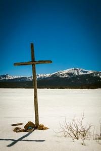 Cross at Big Creek Lake