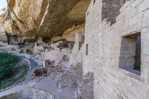 Cliff Palace in Mesa Verde National Park, Colorado