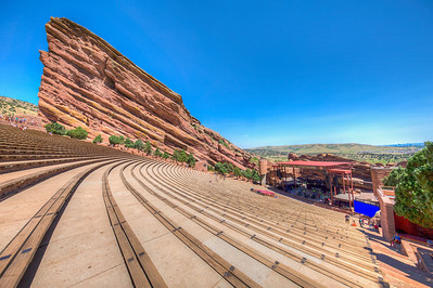 Red Rocks Amphitheatre, Morrison, Colorado, USA