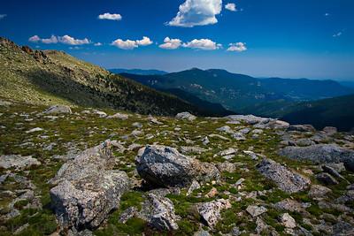 Vistas from Mt. Evans