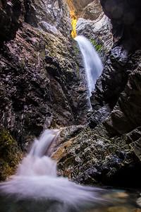 Glow of Zapata Falls