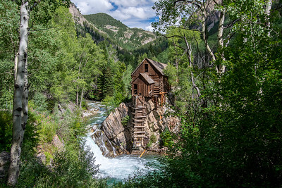 Full Summer At The Crystal Mill