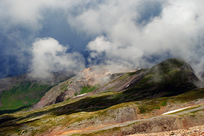 View from Imogene Pass. Ouray, Colorado