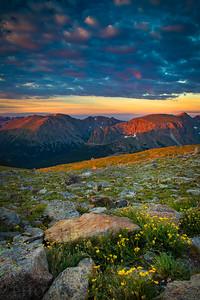 Trail Ridge Road Sunrise
