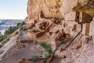 Long House at Mesa Verde National Park in Colorado