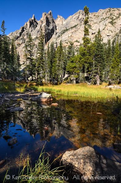Pond at Emerald Lake