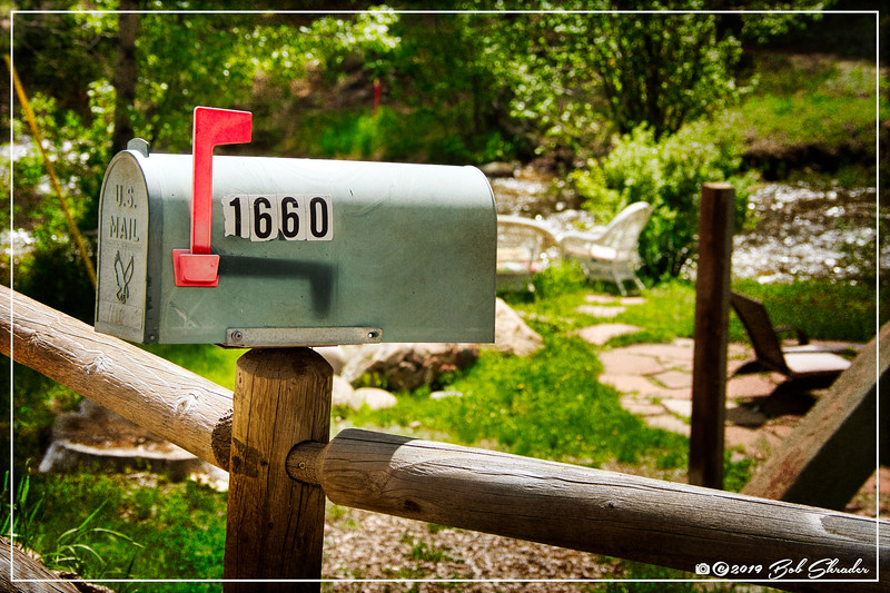 Mailbox on the River