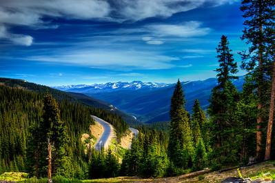 Atop Berthod Pass