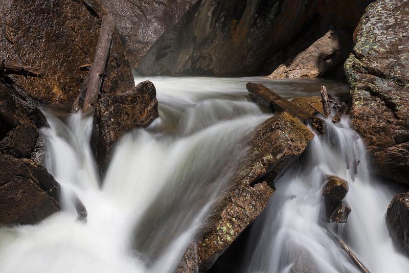 Cascades below Ouzel Falls
