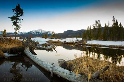 Spring at Big Creek Lake
