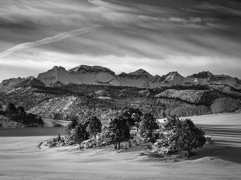 Near Ridgeway, Colorado (February 2014)