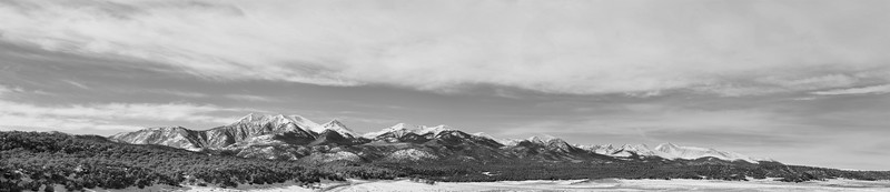 Sangre De Cristos from the East Side