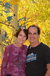 Ron and Beth near Aspen