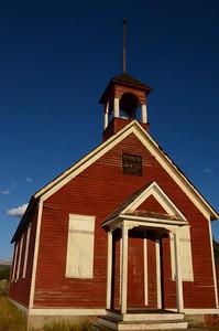 Schoolhouse in Leadville