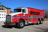Tanker 54 <br /> 2001 Kenworth Chassis with a 3800 gallon water tank, 500 gpm pump