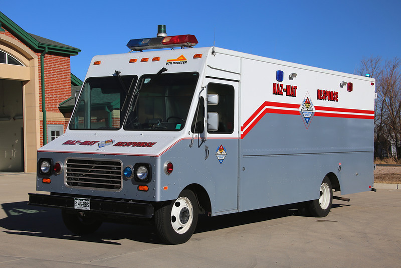 Haz-Mat 6<br /> Brighton operates one of several Hazardous Materials Response vehicles owned by Adams / JeffCo Haz-Mat.