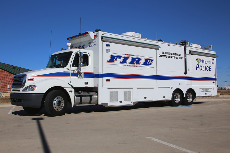 USAI mobile command and communications unit
