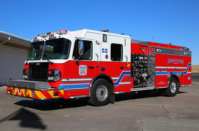 Engine 52<br /> 2013 Spartan / BME with a 750 gallon water tank & 1500 gpm pump