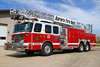 Paramedic Truck 14 - 2013 E-One Cyclone II, 440 gallon water tank, 40 gallon foam tank, 1500 gpm pump, 100' aerial