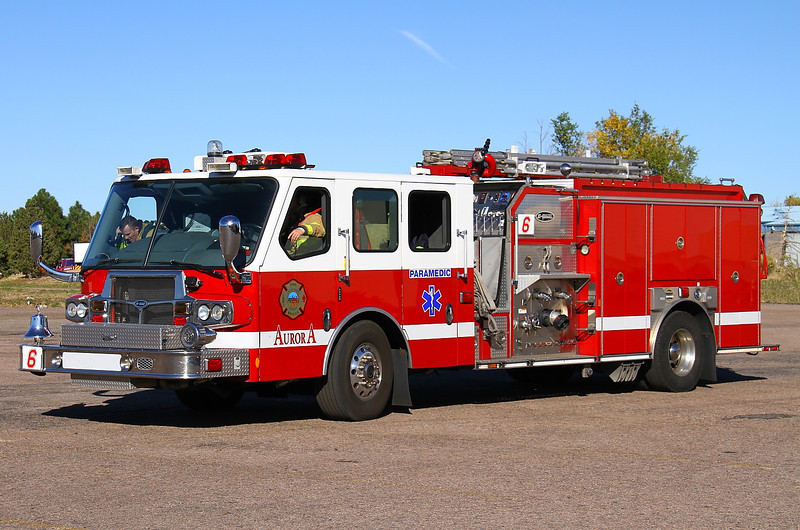 Aurora Paramedic Engine 6 - 2009 E-One Quest 500 gal / 1500 gpm