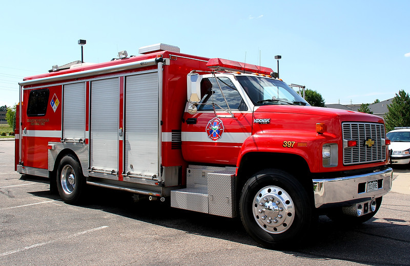 Haz-Mat 11 operates this Chevrolet / SuperVac