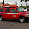 Battalion Chief 1 operates this 2009 Chevy Suburban 4x4.  BC1 oversee's all of LFR's Stations