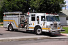 Denver Engine 5, stationed at 999 S Cherry in the City of Glendale.  This is one of two Engines in the DFD fleet with a top mounted pump, formerly Glendale Engine 111.