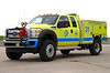 Mini 31 responds in tandem with Truck 31 and operates this 2012 Ford F-550 / Pierce 4x4 with a 300 gallon water tank, 12 gallon foam tank & 120 gpm pump