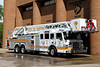 Tower 1 - 2012 Pierce Velocity 100' stationed in Downtown Denver.  This crew cross-staffs the Collapse Rescue Unit and responds to tech rescue incidents citywide.