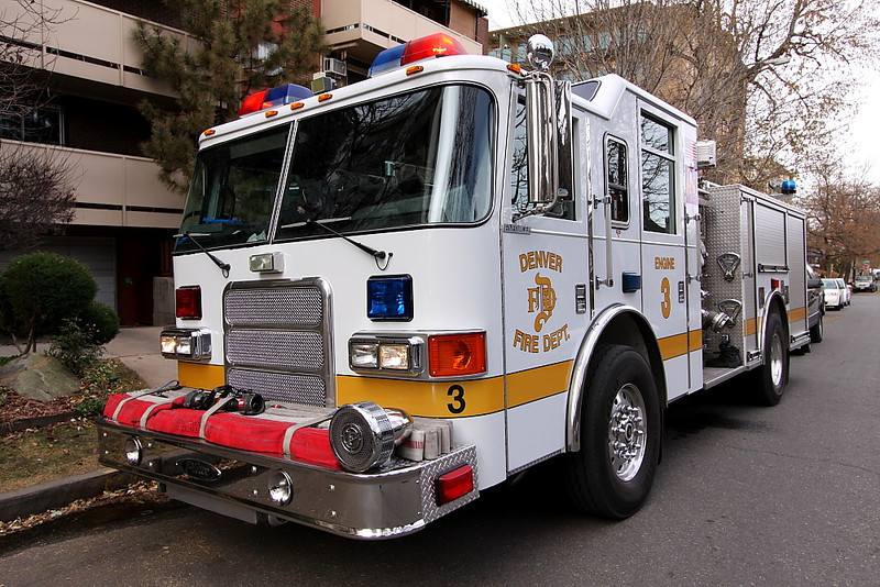 Denver Engine 3, stationed at 25th & Washington in the Five Points Neighborhood.