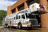 Tower 1 - 2012 Pierce Veolocity 100' stationed in Downtown Denver.  This crew cross-staffs the Collapse Rescue Unit and responds to tech rescue incidents citywide.