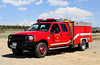 North-West Fire Rescue Brush 42.  1999 Ford F-450 / American LaFrance 4x4 with a 300 gallon water tank, 30 gallon foam tank & 185 gpm pump.