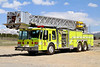 North-West Fire Rescue Truck 42.  1985 E-One with a 300 gallon water tank, 1,500 gpm pump & 100' aerial