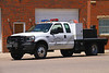 La Salle Brush 1 - 2003 Ford F-450 4x4 with a 300 gallon water tank.